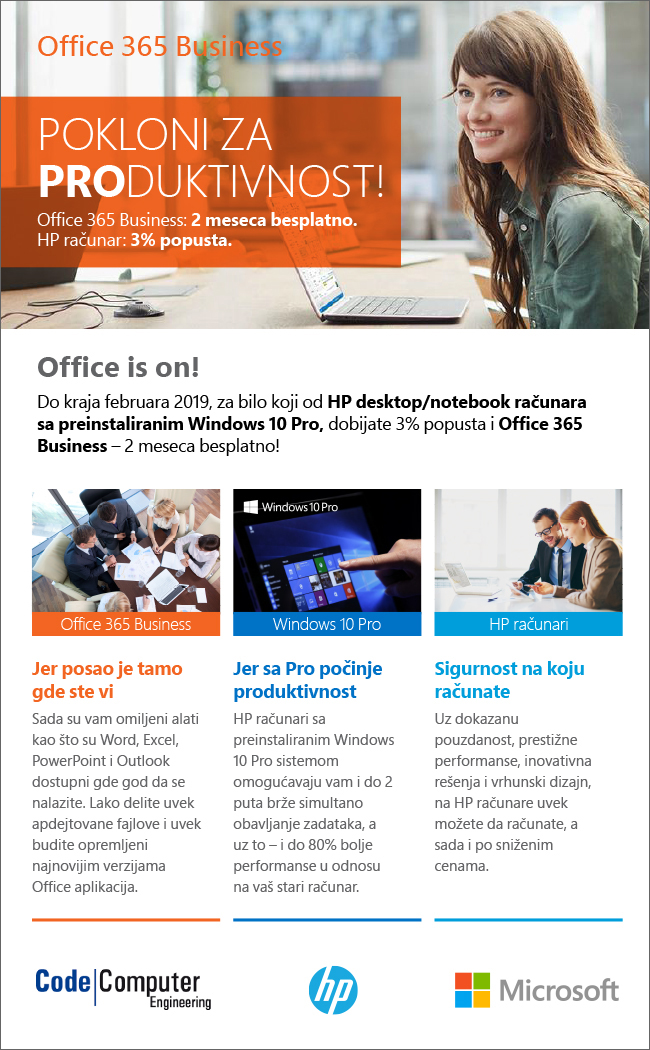 Win10Pro+Office 365+HP